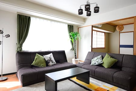 SHIBUYA*Wi-Fi*9People OK!  67.31㎡ 2BR - Shibuya-ku - Apartment