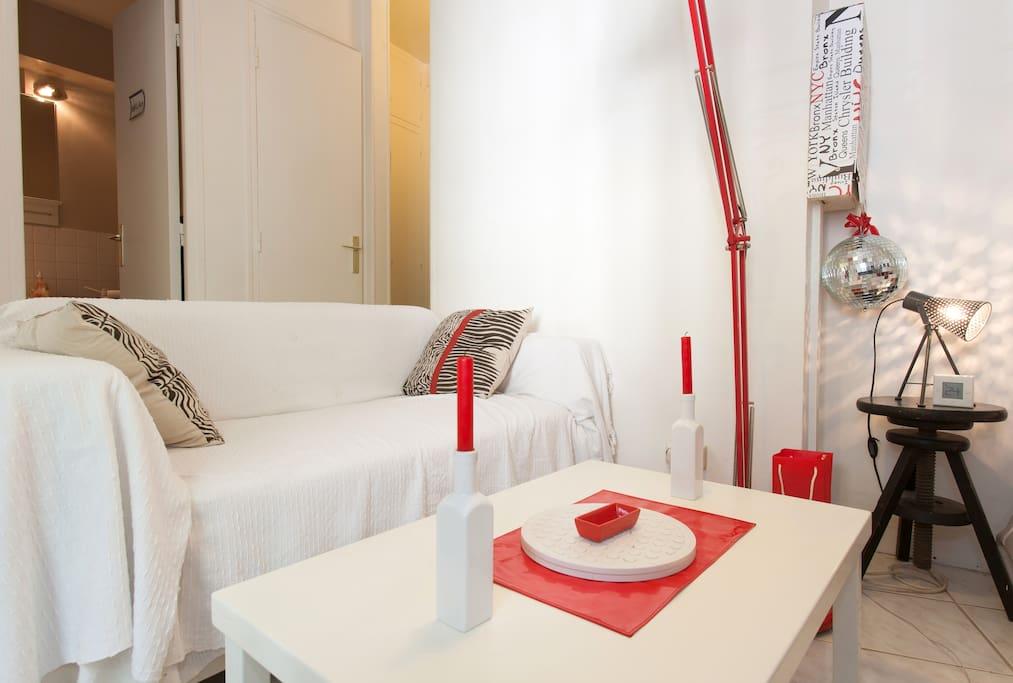 intimate studio near Montparnasse