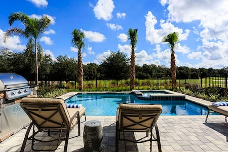 Amazing Contemporary Villa 12 mins from Disney - Kissimmee - Ev