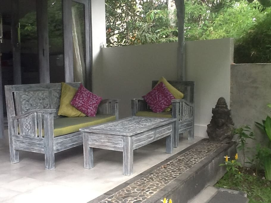 Porch at Pondok Maya