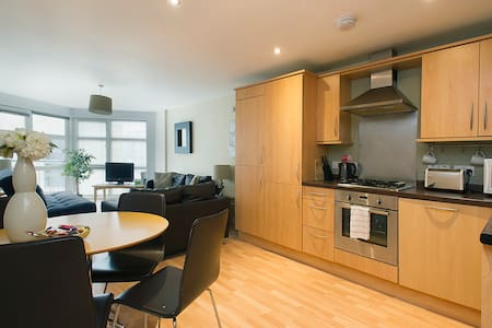 City Centre, 2 bed apt with parking and balcony - Nottingham - Apartment