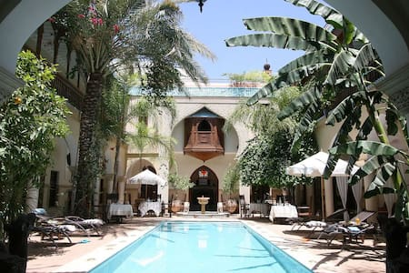 Luxury Riad in the hearth of Medina