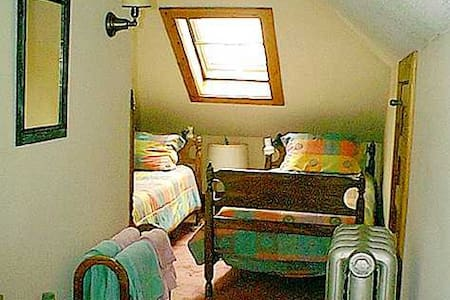 Twin Room @ Fogarty's B and B - Saranac Lake - Bed & Breakfast