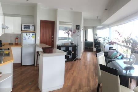 Wonderful Ocean View Apartment in Miraflores - Apartmen