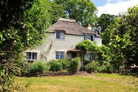 Pretty Thatched Cottage - Crowcombe, Taunton - Casa