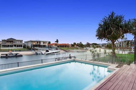 Beautiful Water front Home on the Gold Coast - Broadbeach Waters - Hus