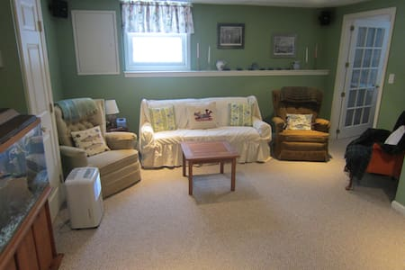 Guest suite in single family home. - South Burlington - Wohnung
