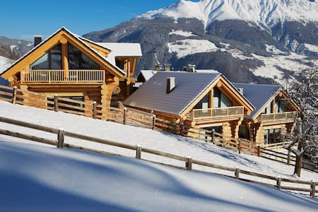 TyroLadis Family Relax Chalets - House