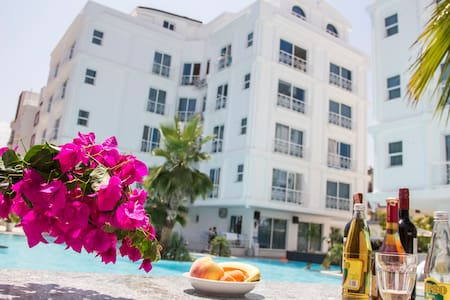 Antalyada eşyalı en ucuz konut. (1 + 0 ) - Apartament