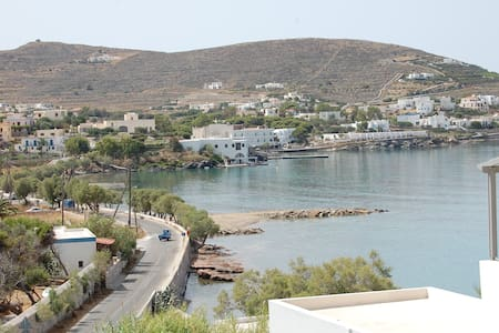 Top Floor Studio in Syros with Amazing Views - Finikas - Wohnung