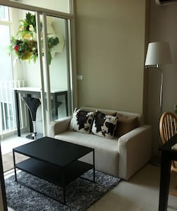 private apartment near shopping - Bangkok - Apartamento