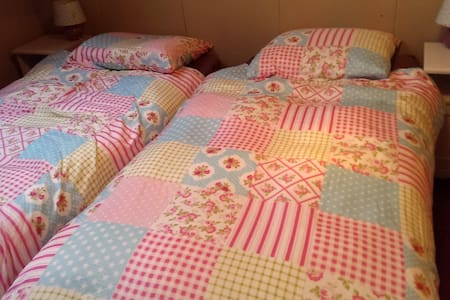 Room (4) with boxspring in old farm - Westbroek - Bed & Breakfast