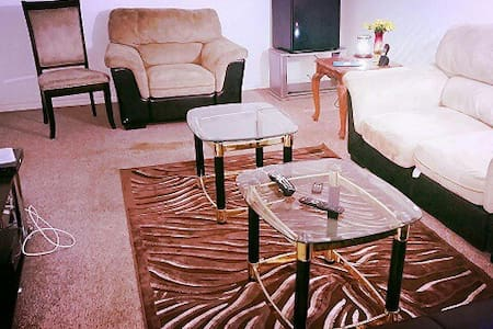 Fully furnished basement-can party