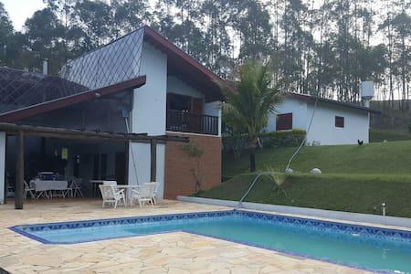 Chácara ideal para seu lazer - piscina e churrasco - Campo Limpo Paulista