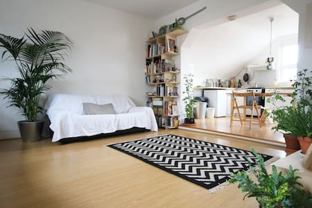 A Spacious Green London Retreat - London - Apartment