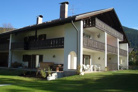 Quiet apartment in Oberammergau - Oberammergau - Apartemen