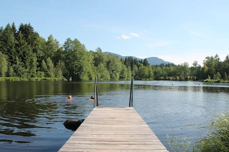 Urlaub auf dem Langerhof-Seeblick - Flat