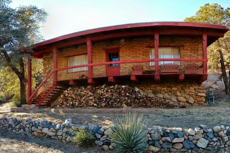 Adobe Cabin in Cochise Stronghold - Cochise - Cabana