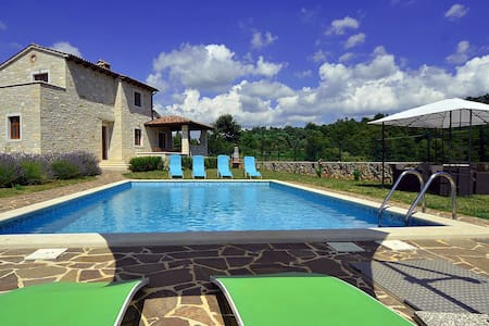 Beautifull villa with private pool - Dubravci