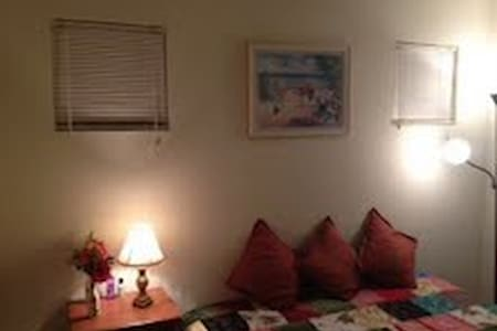 Offering a fully furnished room in a pretty house for you to enjoy your stay in SF bay area thoroughly.