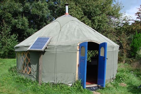 Holiday/ retreat yurt Totnes area - Allaleigh, Blackawton, Totnes - Yurt