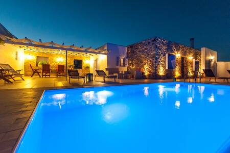 Crystal Villa 1 with private pool - Marpissa