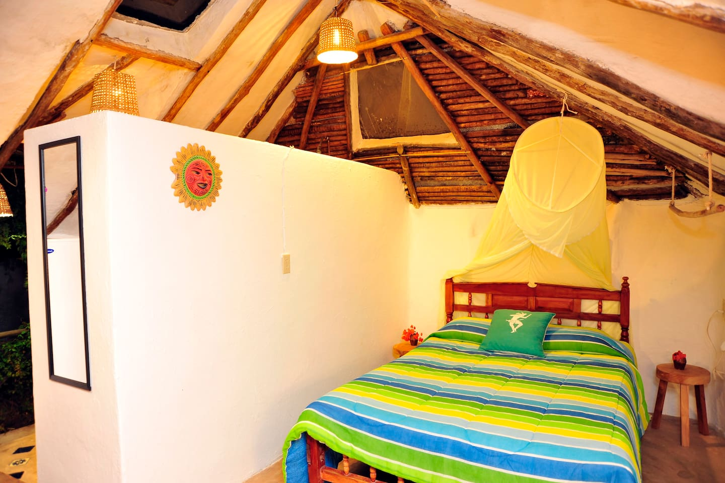 Casitas Kinsol - (website hidden) - Room #7 - With a full-size bed