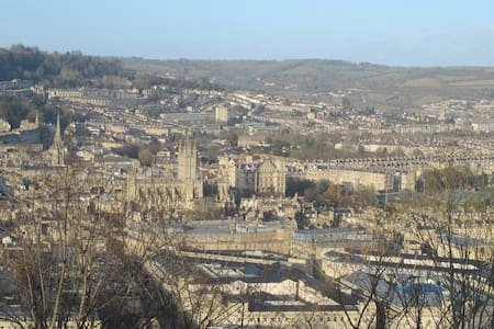 Lovely  room with views over Bath - Bath