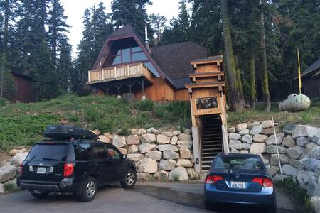Alpine Tahoe A-frame Cabin-SKI IN!