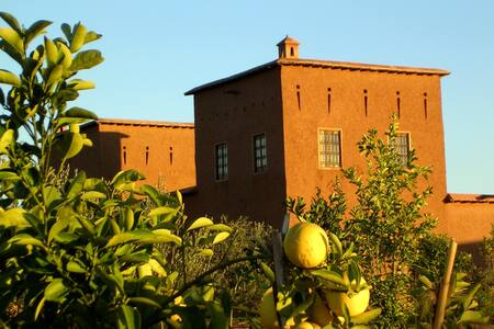 rooms in country farm house ll - Marrakesh