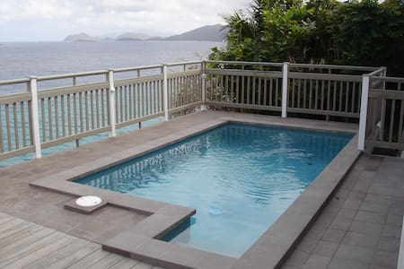 On the water, private pool & spa! Stupendous view - East End