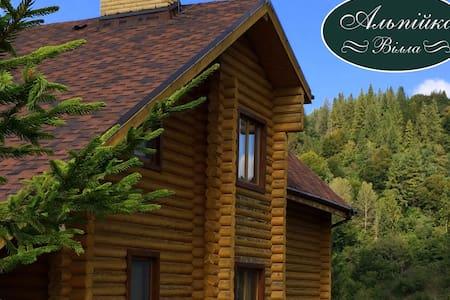Alpiyka - Highest Carpathians Villa - Volosyanka - Huvila