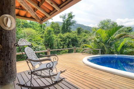 Rainforest suites in Ilhabela