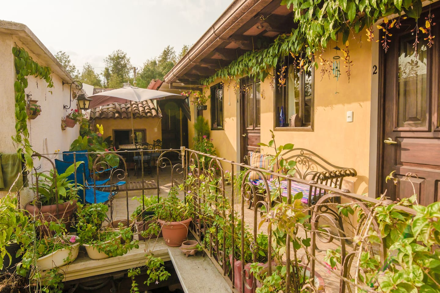 Welcome in our cozy, typical Guatemalan house.
