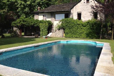 Luxury lake  villa pied dans l'eau - Orta San Giulio