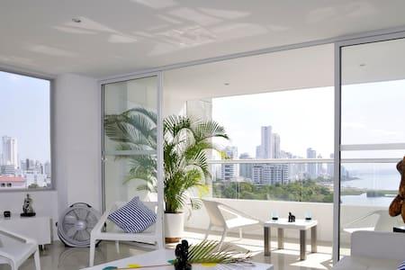 LA MEJOR VISTA DE CARTAGENA - Cartagena - Apartment