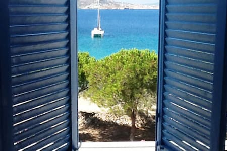 *BEACHFRONT STUDIO* for 2, Krios beach, Paros - Krotiri