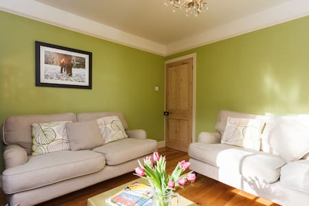 Boutique New Forest Family Friendly Cottage - Rumah