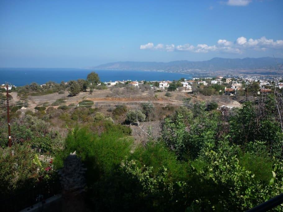View of Polis Chrysochou Bay from Balcony