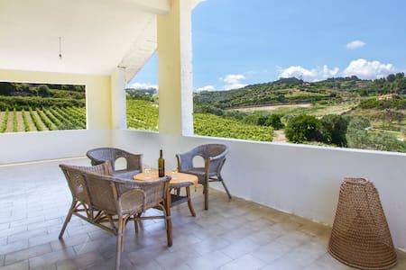Getaway in vineyards-3km from sea - House