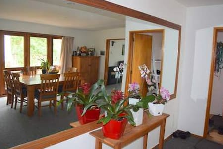 Homely Haven - Close to town centre - Rangiora - Huis