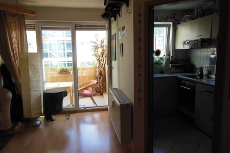 Helle, gemütliche 1-Zi. Wohnung in Vauban-Freiburg - Freiburg