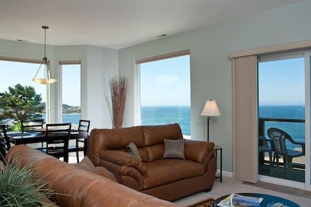 Ocean View Condo - HDTV & Fireplace - Lakás
