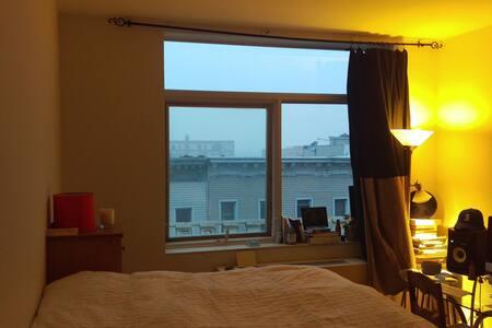 Bedroom in luxury Arts community - Brooklyn - Apartment