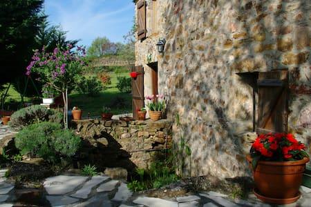 Un adorable Mazet en pierre du pays avec jardin - Erdhaus