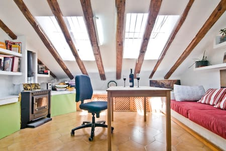 Cozy GRAN VIA PENTHOUSE WiFi A/C - Madrid - Apartment