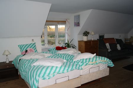Fyn, double room No5, Gislev, Funen - Gislev - Apartment