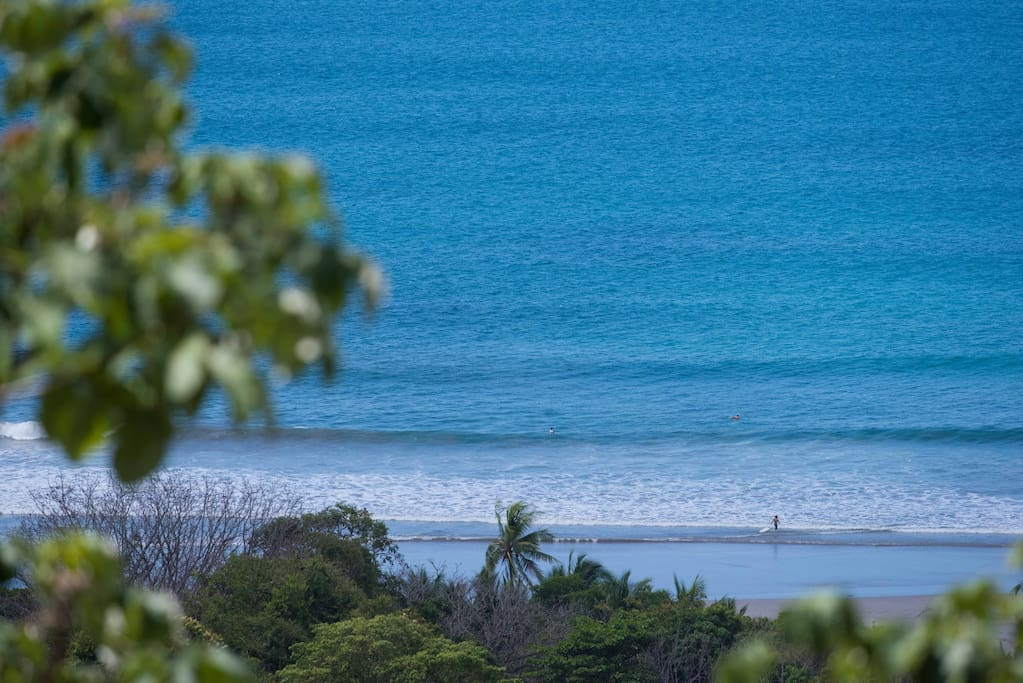 Check the surf conditions from your private balcony!