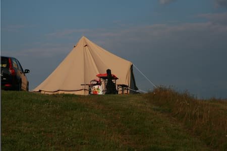 Romantic coton tent in the Morvan - Brassy - Zelt