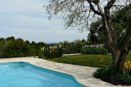 Charming villa, pool and sea views